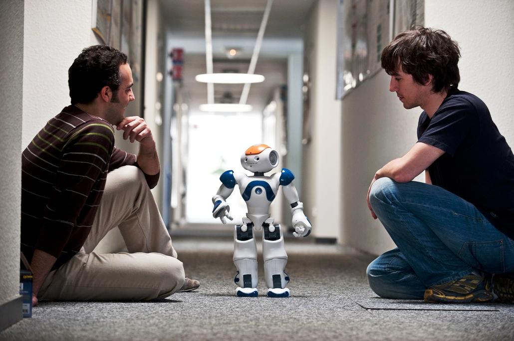Картинки человека робота