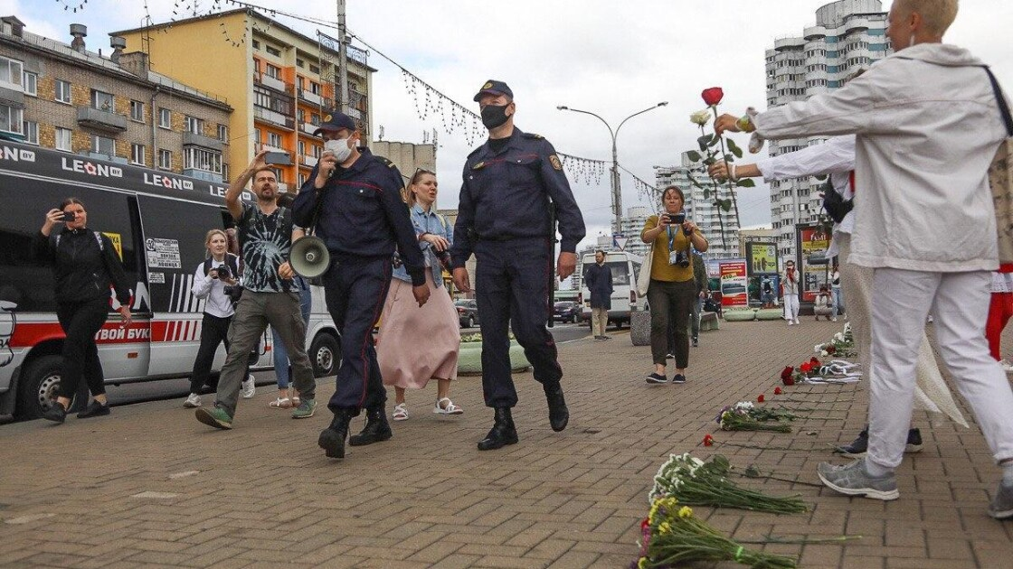 Жіночий пікет в Мінську