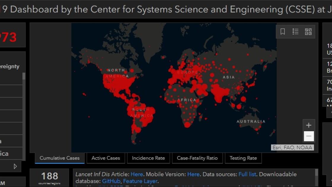 Коронавирус в мире по состоянию на 7 сентября