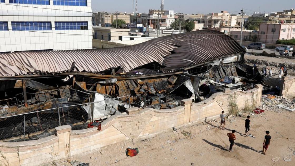 Вибух у лікарні в Іраку