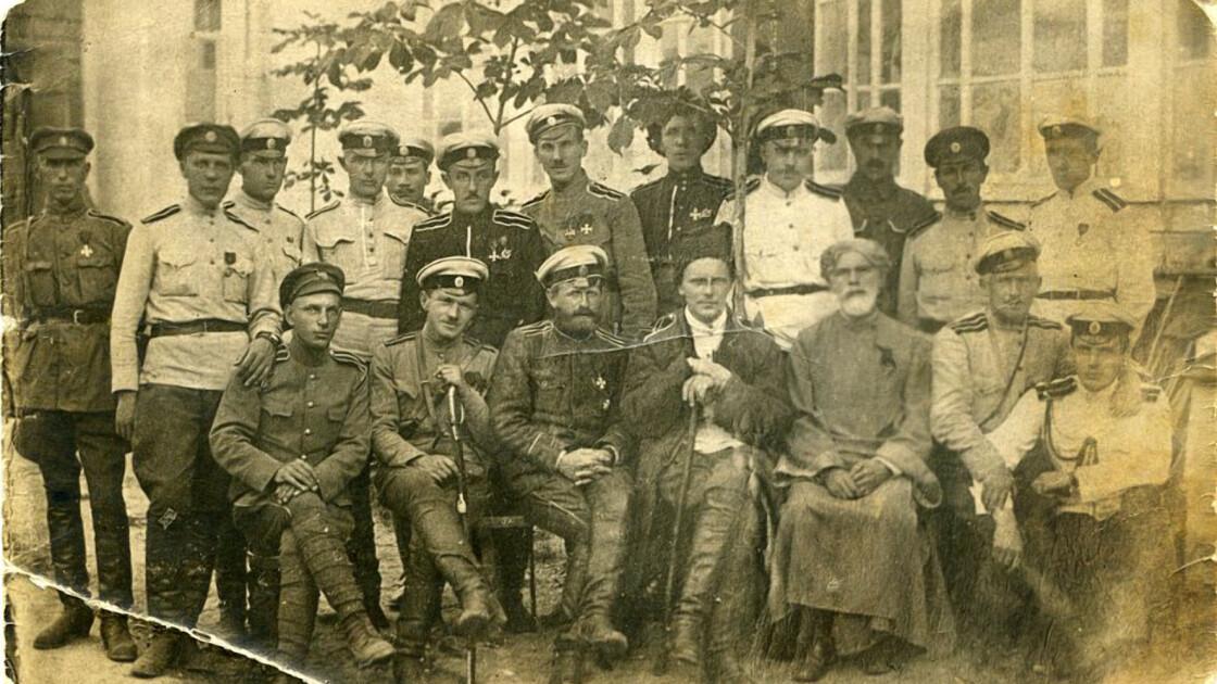 Офицеры 1-го Марковского полка
