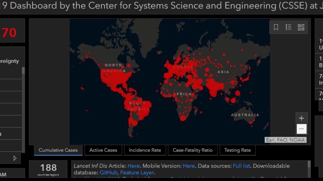 Коронавируса в мире по состоянию на 14 сентября