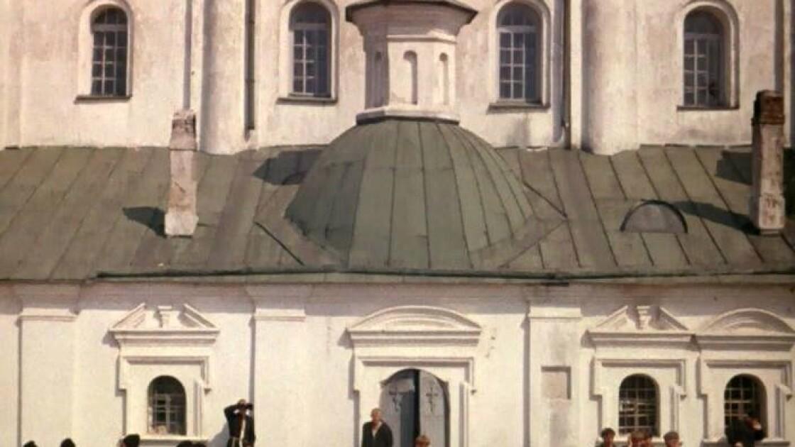 Чернігівський Єлецький монастир у кадрах художнього фільму за повістю Миколи Гоголя «Вій» (1967 р.).