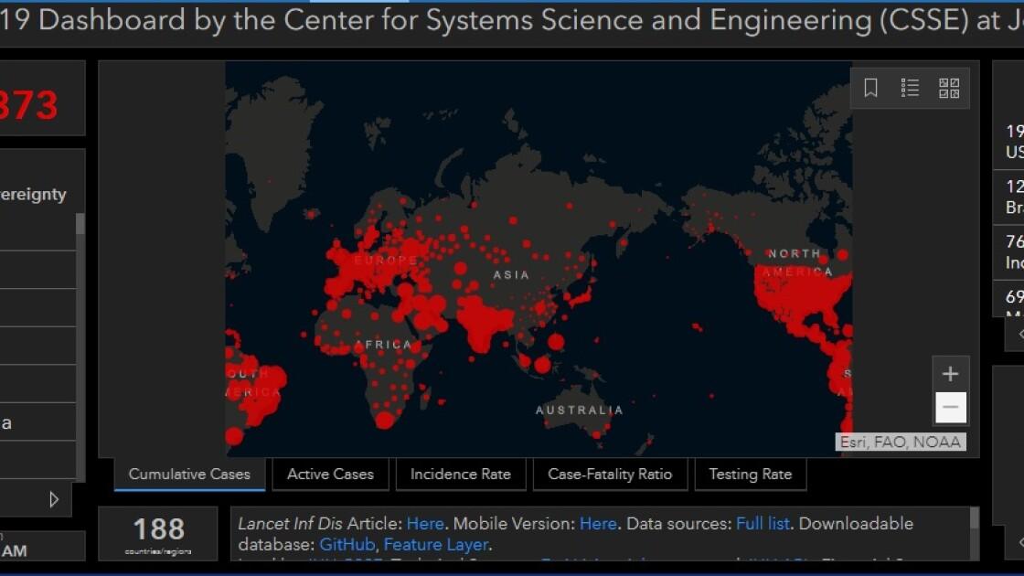 Коронавірус у світі станом на 11 вересня