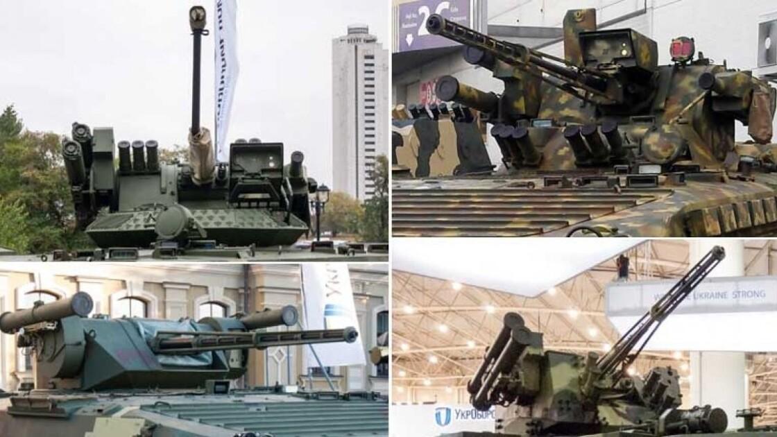 """Боевые модули """"Парус"""", """"Копье"""", """"Шквал"""" и """"Стилет"""" / defence-ua.com"""