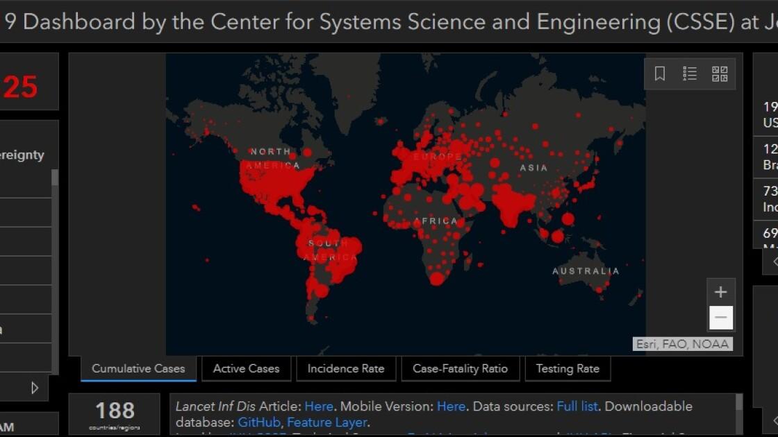 Коронавирус в мире по состоянию на 10 сентября