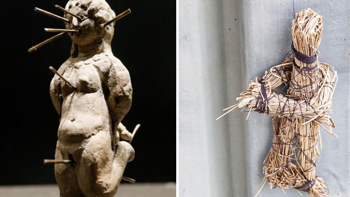"""Египетская фигурка и ее """"сестра"""", найденная в Сатанове"""