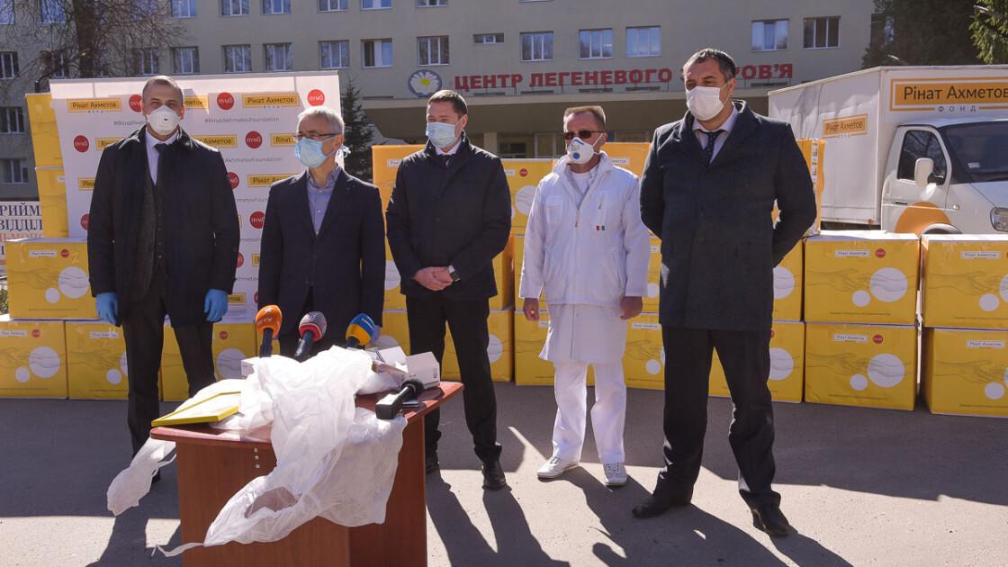 Всього підтримку отримали 156 лікарень в 6 областях України