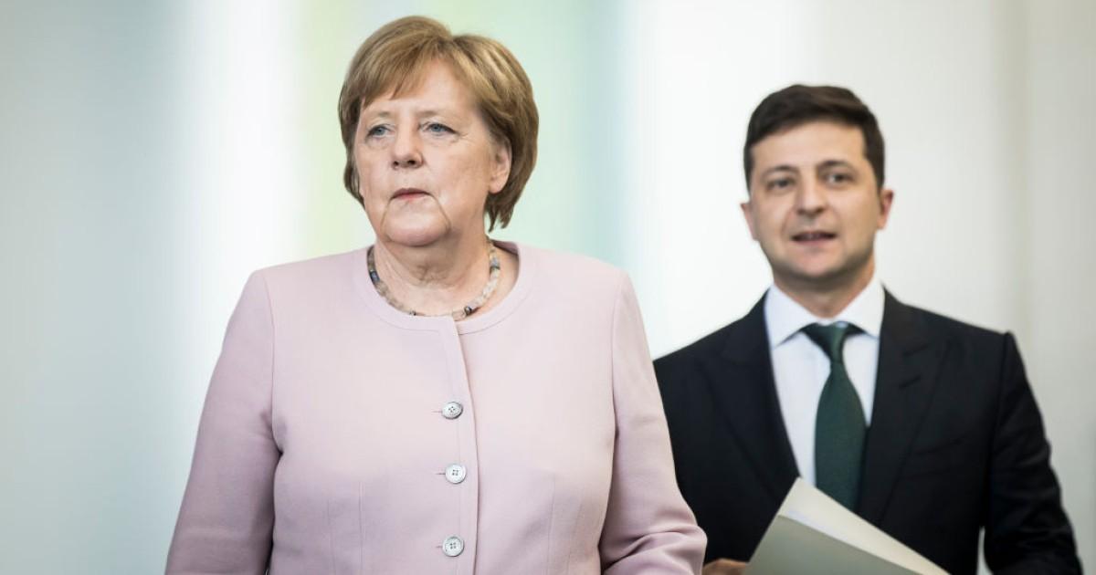 Зачем Меркель вызвала к себе Зеленского. План Мааса и Лаврова по Донбассу —  DSnews.ua