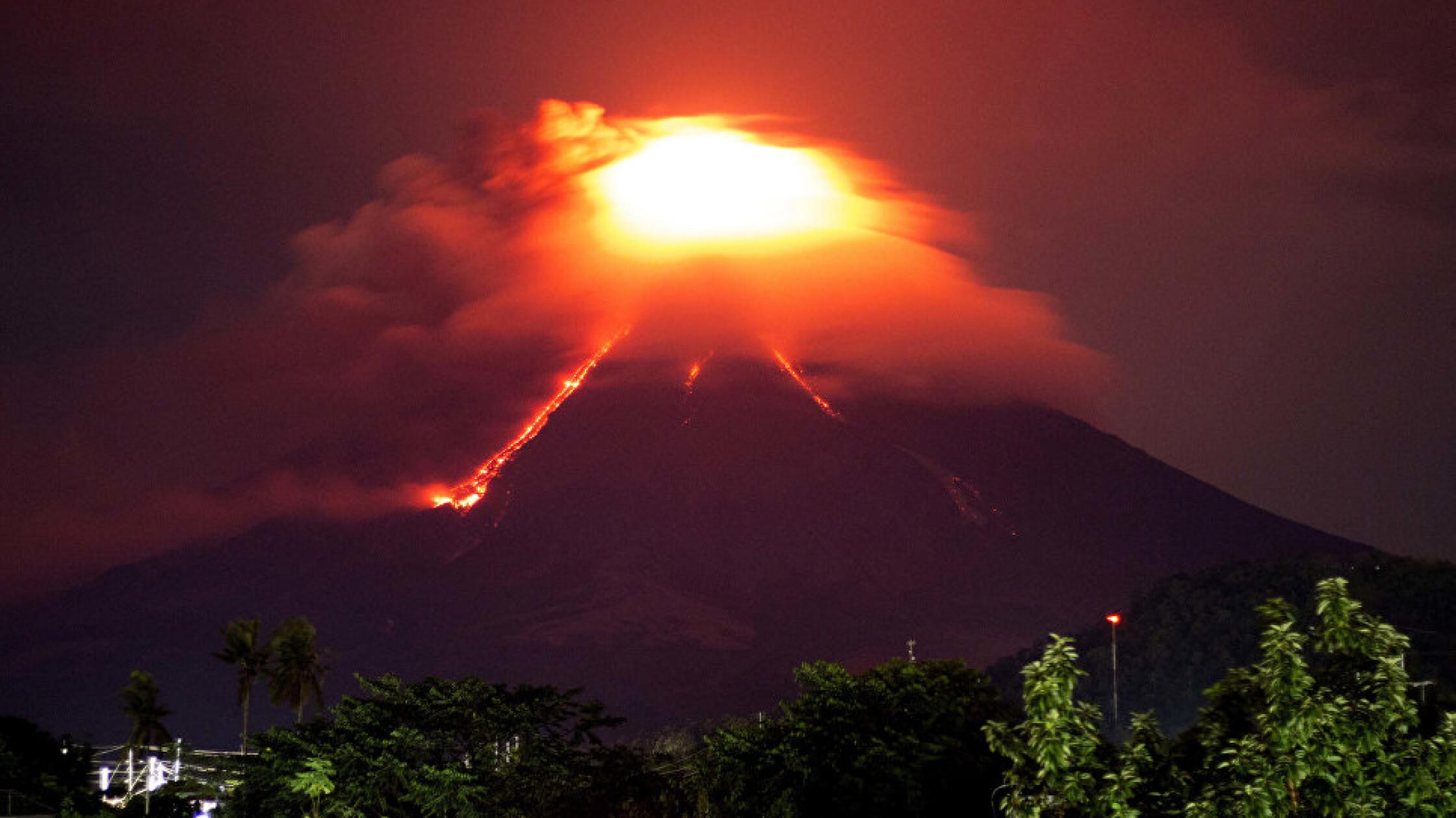 Действие вулкана картинка