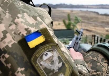 Український захисник на Донбасі