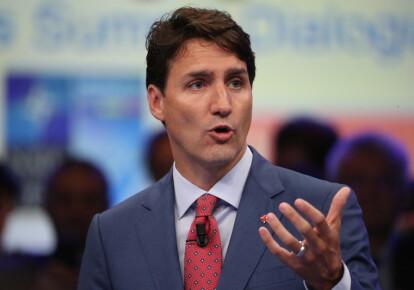 Прем'єр Канади Джастін Трюдо виступив із заявою проти повернення Росії в G7. Фото: EPA/UPG