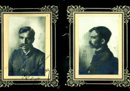 Андрей Гулый-Гуленко через пять дней после ареста, 24 июля 1922 г. Фото из уголовного дела