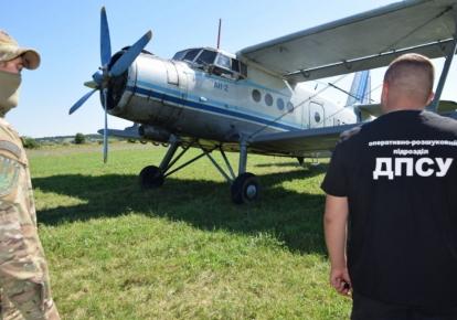 Затриманий літак