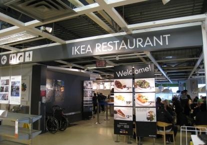 Отделы питания в IKEA