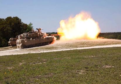 Танки М1 Abrams / Sgt. Melissa N. Lessard/U.S. Army