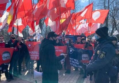 """Мітинг представників """"Партії Шарія"""" у Києві"""