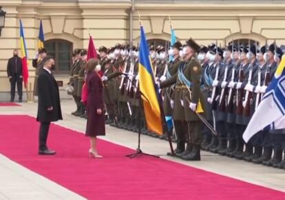 Володимир Зеленський і Майя Санду