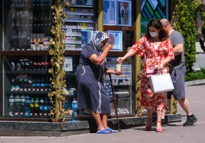 Каждому десятому украинцу не хватает денег на еду. Фото: УНИАН