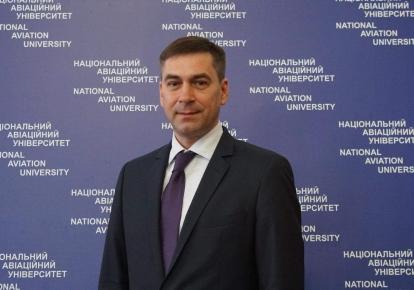 Ректор НАУ Максим Луцький