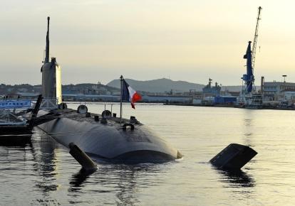 Французская подводная лодка