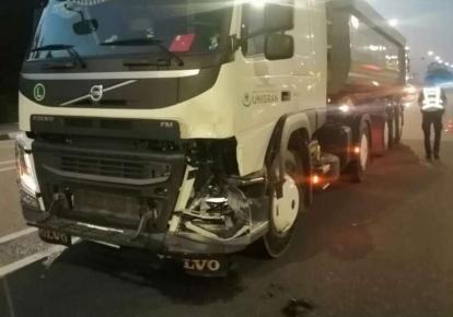 Аварія сталася на 44 км траси Київ-Ковель