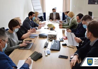 Засідання міського штабу з протидії коронавірусу