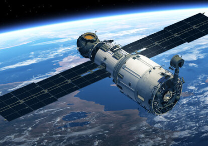 Супутник (ілюстрація)