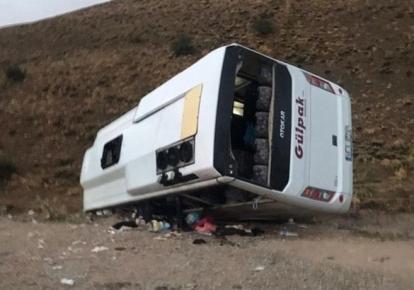У Туреччині перекинувся пасажирський автобус, є постраждалі