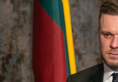 Глава МИД Литвы Габриелюс Ландсбергис