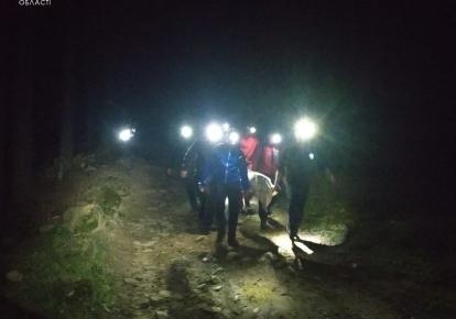 Рятувальники спустили травмованих до підніжжя гори та передали медикам