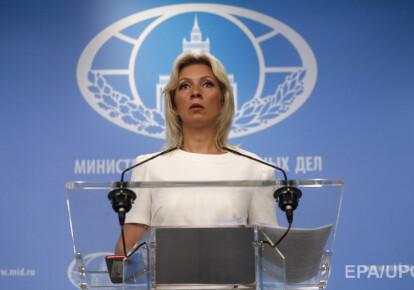 Марія Захарова заявила, що в питанні врегулювання конфлікту на Донбасі Москва прихильна Мінським домовленостями