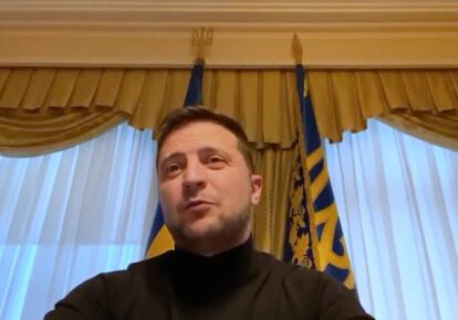 Владимир Зеленский / скриншот видео