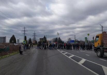 Акция протеста в Днепропетровске