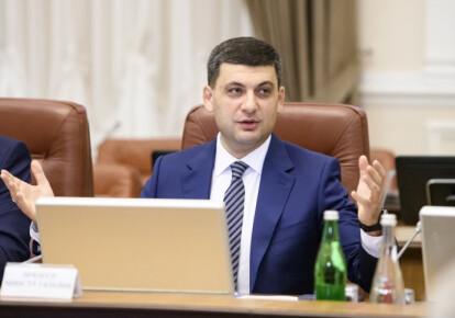 Володимир Гройсман заявив, що підуть Гройсман пообіцяв дзеркальні санкції та ембарго на товари з Росії. Фото: УНІАН