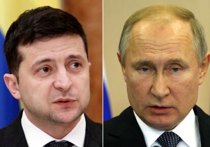 Владимир Зеленский и Владимир Путин проведут закрытую встречу в Париже. Фото: Getty Images