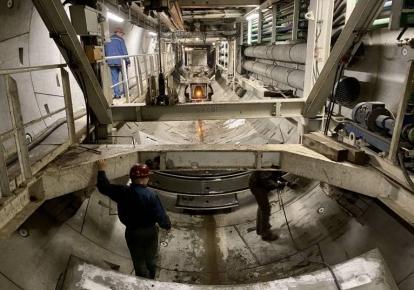 Будівництво метро на Виноградар у Києві