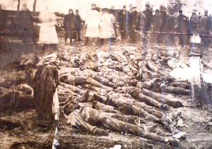 Раскопки жертв белого террора в Харькове, 21 декабря 1919 года