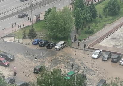 Аварія біля бібліотеки імені В. І. Вернадського