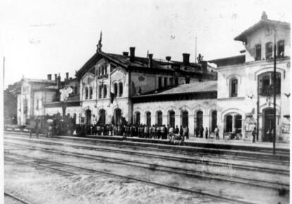 1920-й. На станцию Елисаветград прибыл поезд «Октябрьская революция»