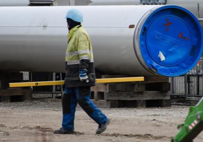 """Будівництво газопроводу """"Північний потік-2"""""""