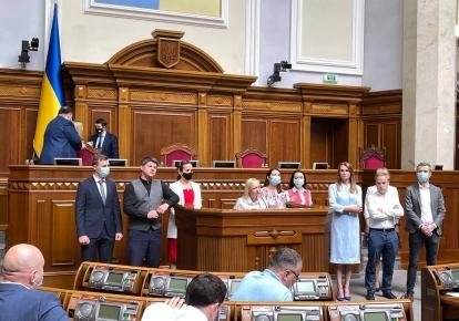 "Парламентська фракція ""Голос"" розкололася навпіл"