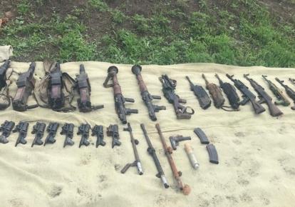 СБУ помешала краже неучтенного оружия