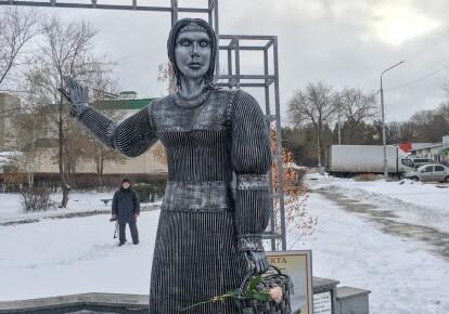 Памятник Аленушке в Воронеже