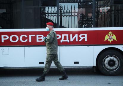Офіцер Росгвардіі/business-gazeta.ru