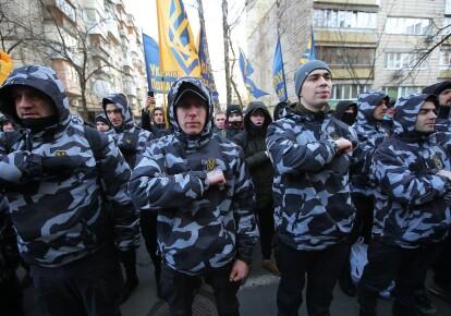 """Активисты """"Национального корпуса"""", архив"""