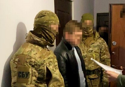 """СБУ затримала колишнього співробітника """"МГБ ЛНР"""""""