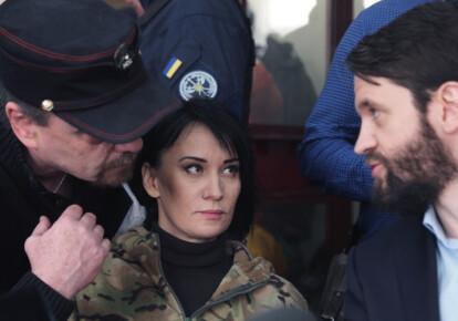 Марусю Звиробий обязали сдать загранпаспорт и носить электронный браслет. Фото: УНИАН