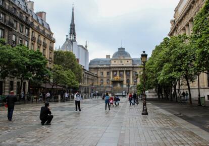 Дворец Правосудия в Париже. Фото: Іргееукіещсл