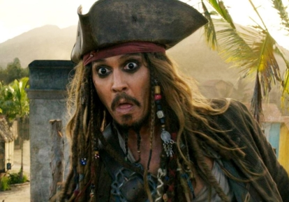"""Кадр из фильма """"Пираты Карибского моря"""""""